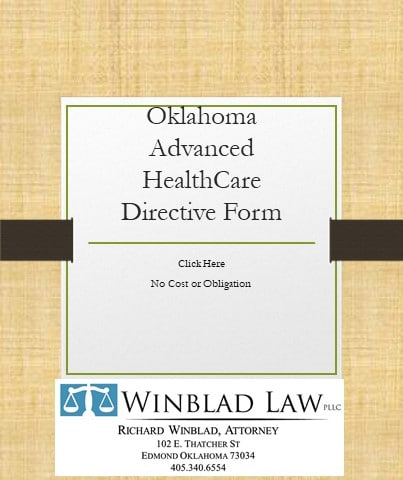 Advanced Healthcare Directive Form